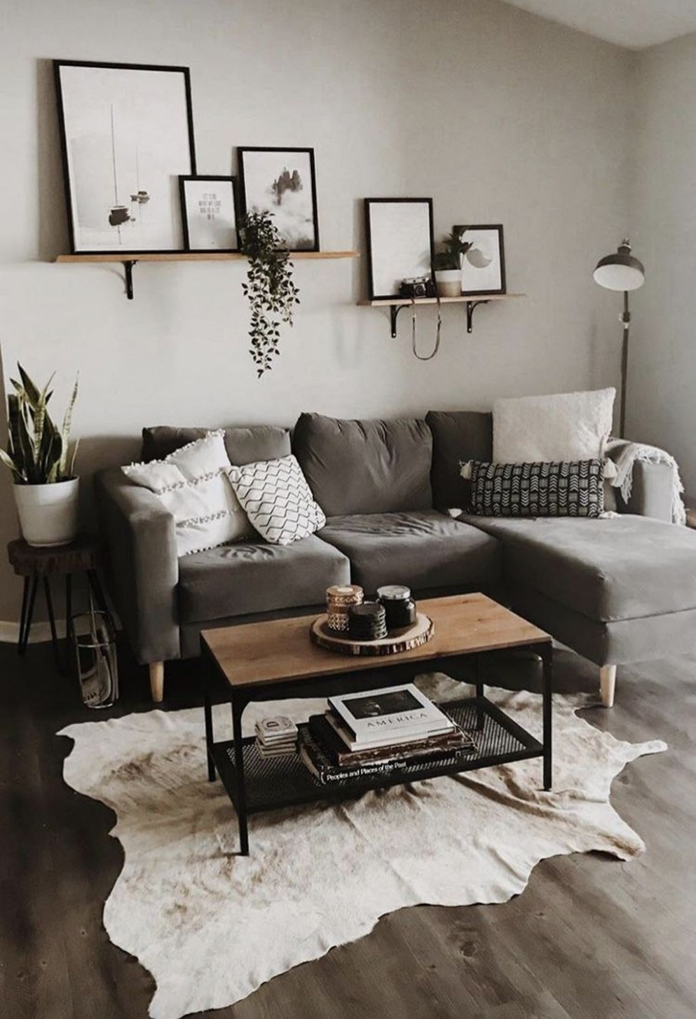 8 Simple Living Room Apartment Decorating  Living room decor  - Simple Apartment Decor Ideas