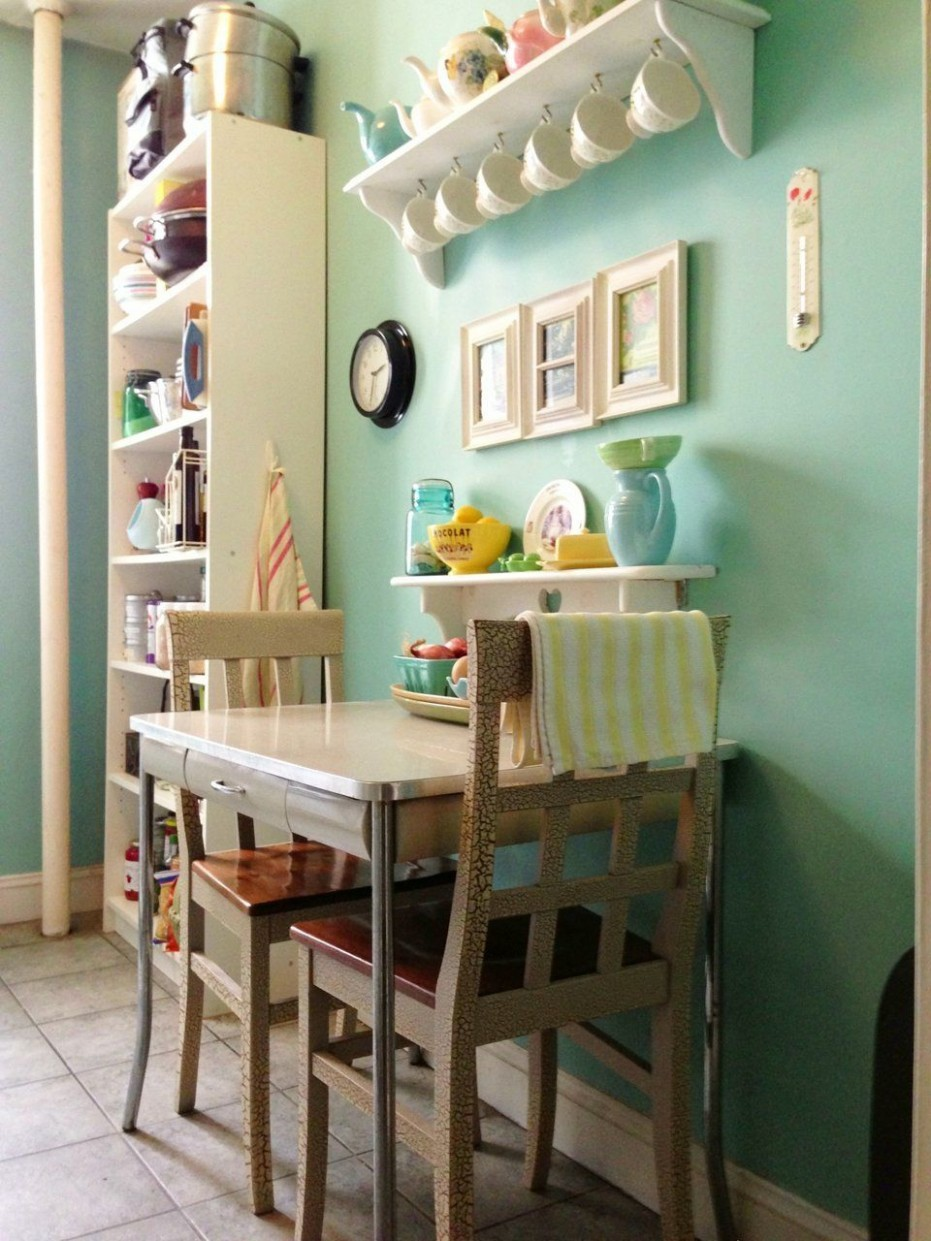8 Small Space Kitchens, Tips, and Storage Solutions That Inspired  - No Dining Room Ideas