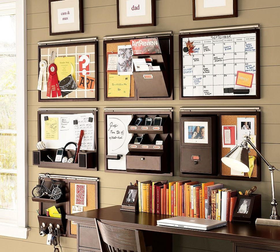 8 Smart, Low-Cost Organizing Ideas  Home office storage, Home  - Home Office Ideas Organization