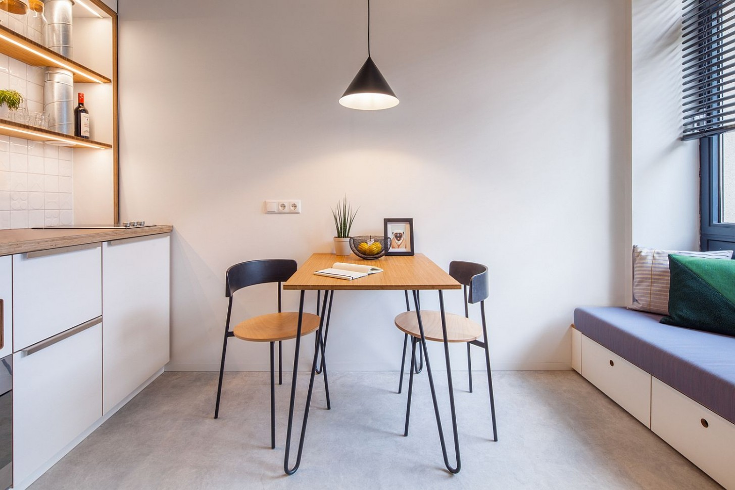 8 Tiny Apartment Dining Rooms that Save Space and Multitask! - Dining Room Ideas For Apartments