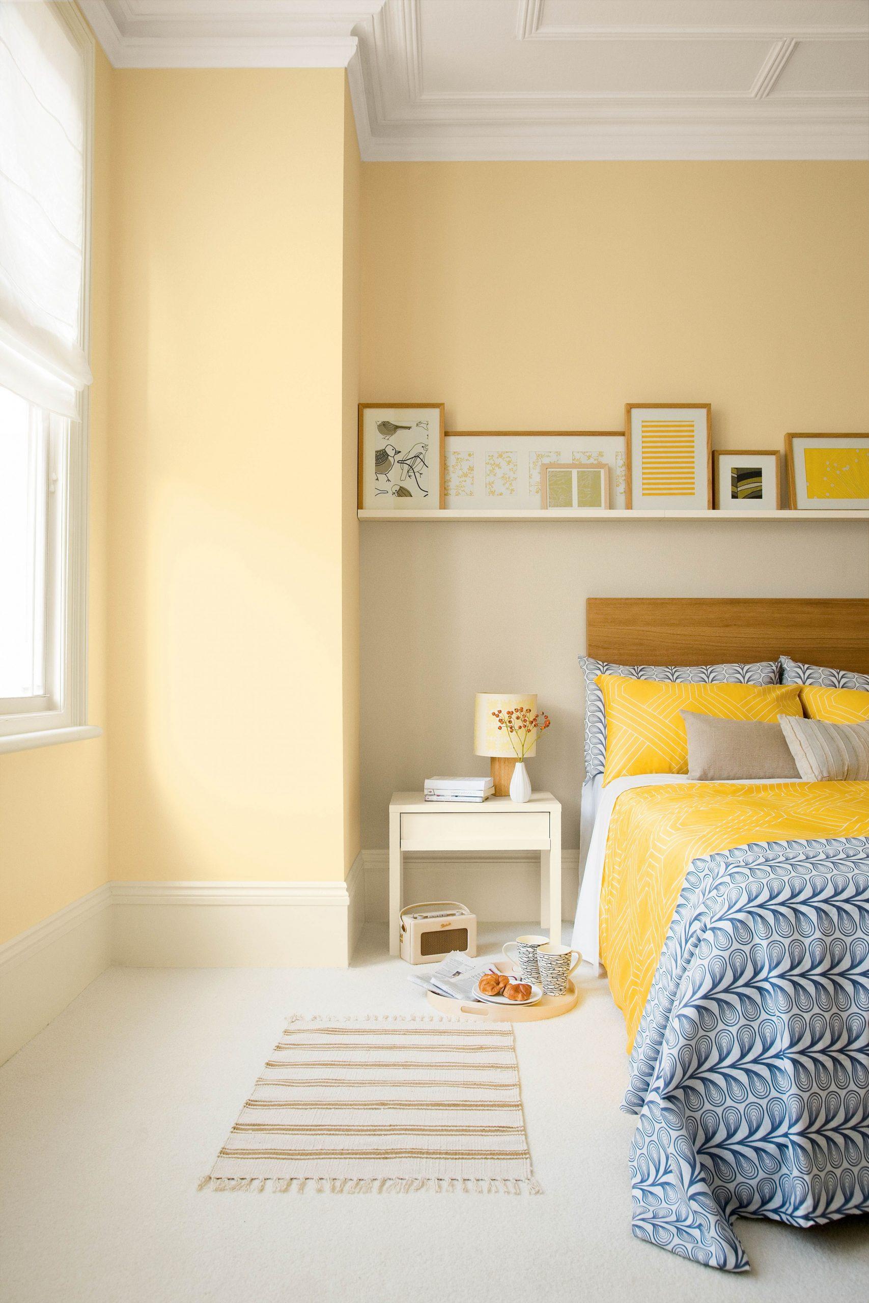 8 Yellow Bedroom Ideas To Brighten Your Space Just In Time For Spring - Bedroom Ideas Yellow Walls