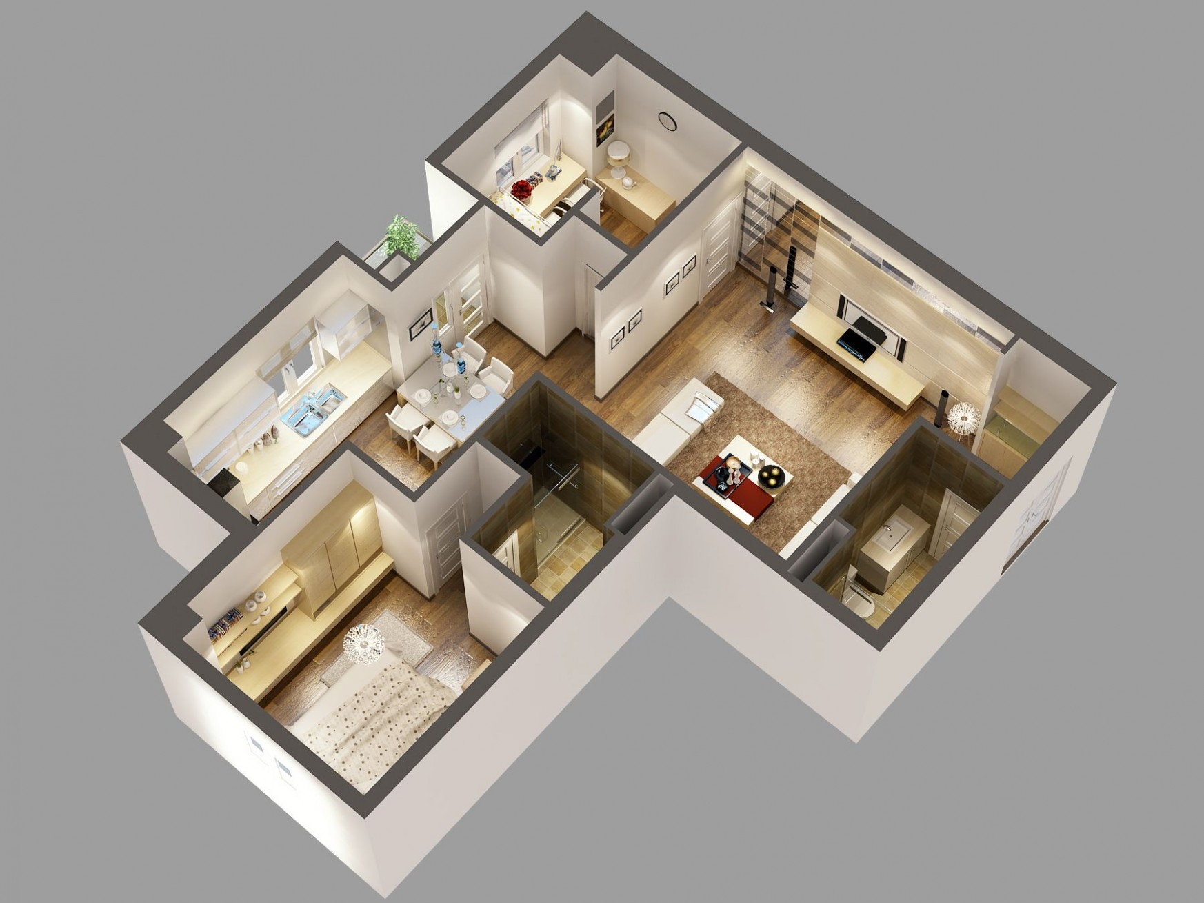8d Floor Plan Software Free with awesome modern interior design  - Apartment Design Online Free