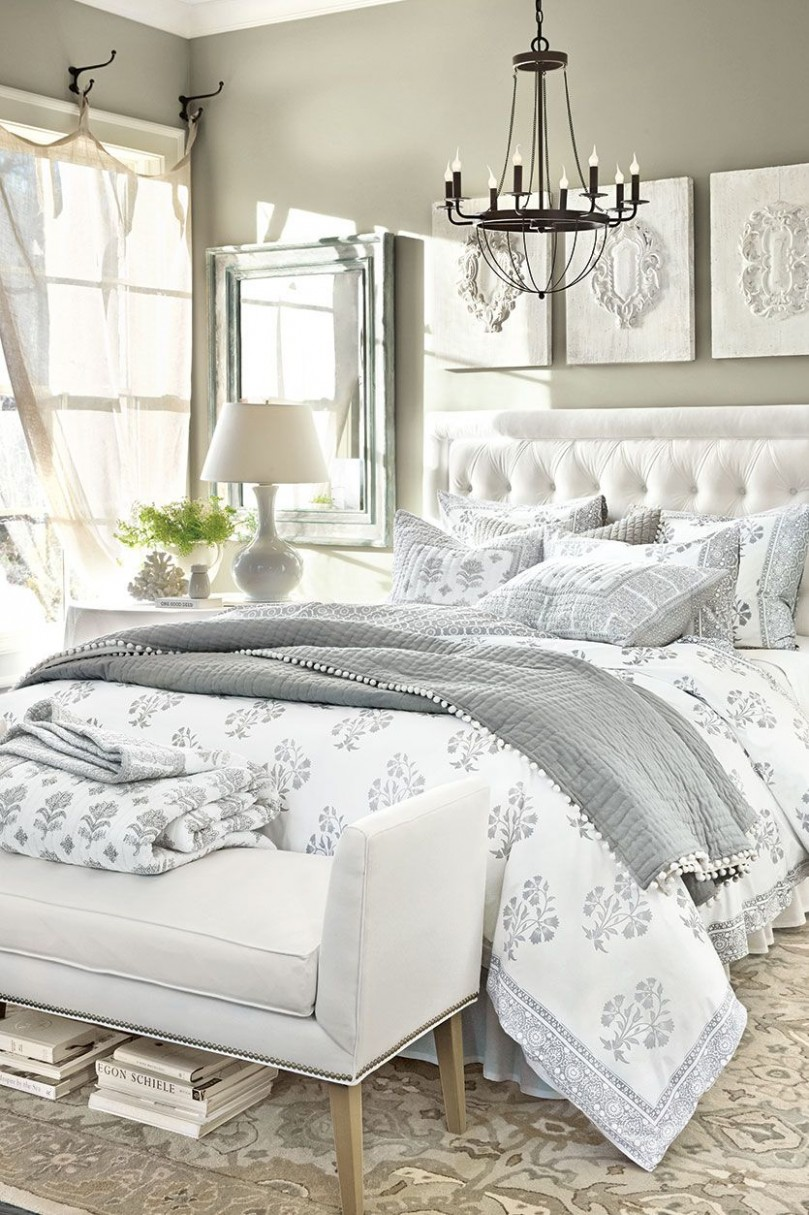 9 Anything-but-Boring Neutral Bedrooms  White bedroom decor  - Bedroom Ideas Neutral Colors