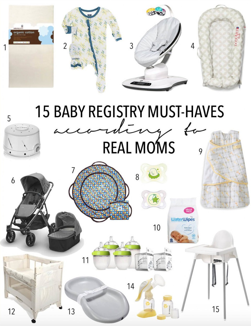 9 Baby Registry Must Haves According to Real Moms • theStyleSafari - Baby Room Must Haves