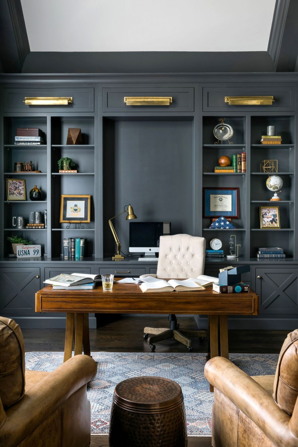 9 Beautiful Home Office Pictures & Ideas November 9  Houzz - Home Office Ideas Man
