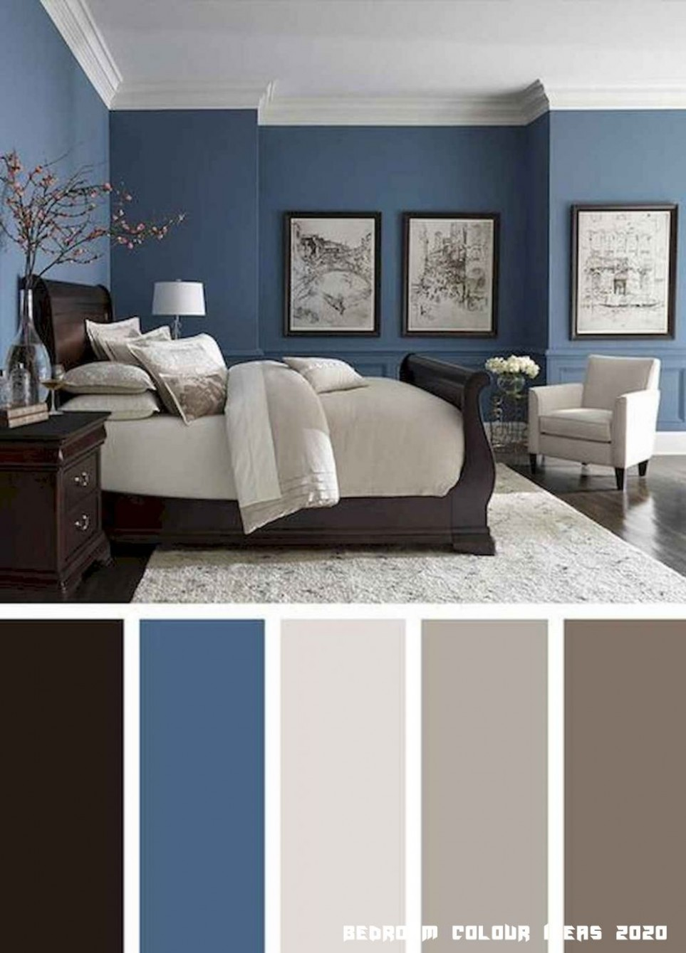 9 Bedroom Colour Ideas 9 in 9  Beautiful bedroom colors  - Bedroom Colour Ideas
