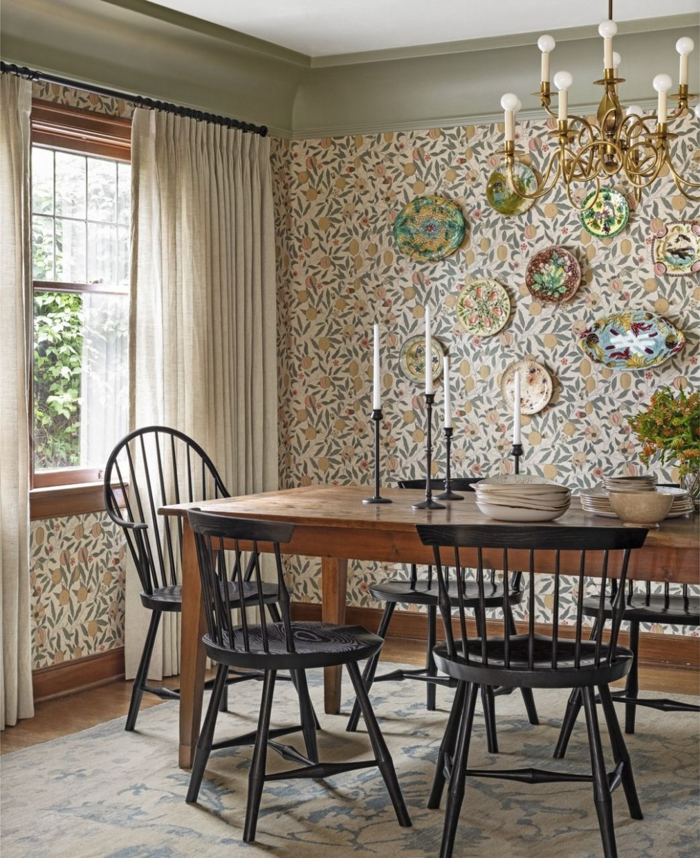 9 Best Dining Room Decorating Ideas - Country Dining Room Decor - Window Ideas For Dining Room