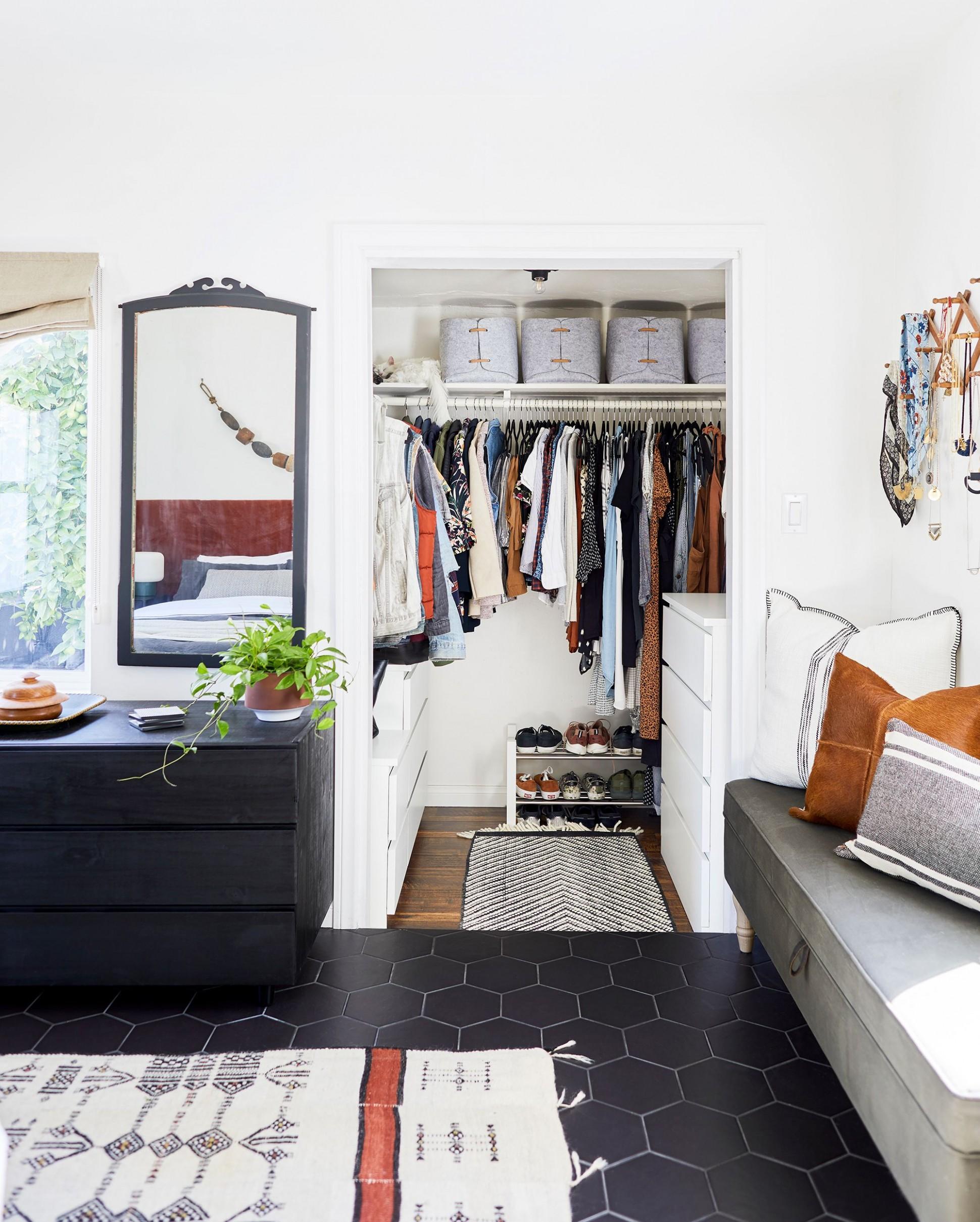 9 Best Small Closet Organization Ideas - Storage Tips for Small  - Closet Ideas Small Bedrooms