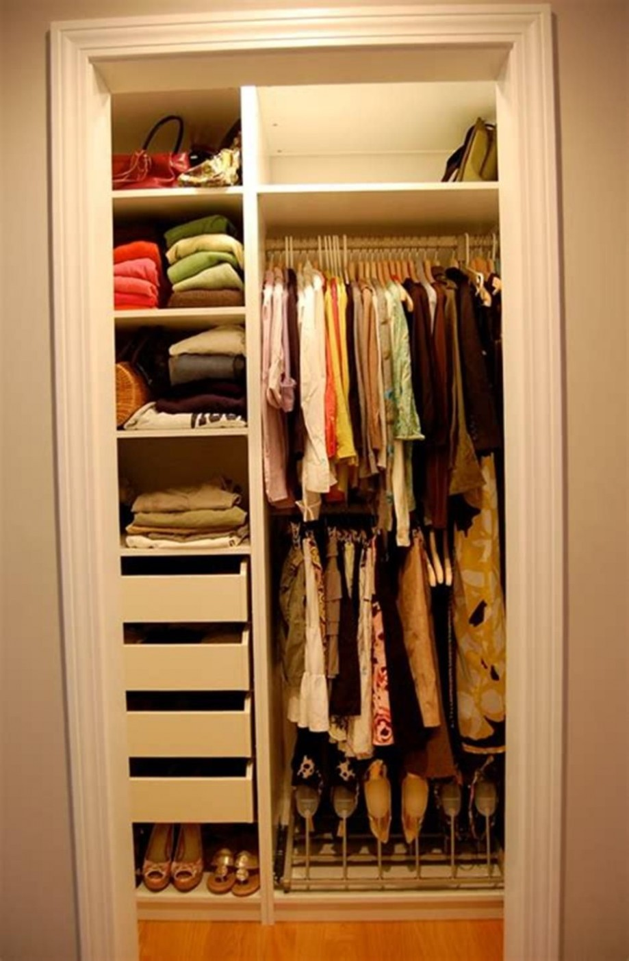 9 Best Small Walk In Bedroom Closet Organization and Design Ideas  - Closet Ideas Small Bedrooms