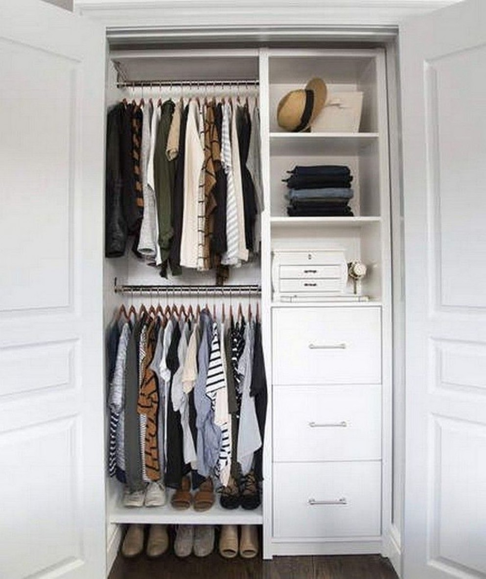 9 Best Ways To Makes Functional Small Closets Ideas  Closet  - Closet Ideas Small Bedrooms