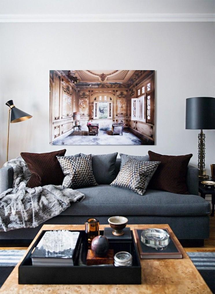 9+ Cozy Mens Apartment Masculine Decor #apartment #apartmentdecor  - Apartment Decorating Ideas Guys