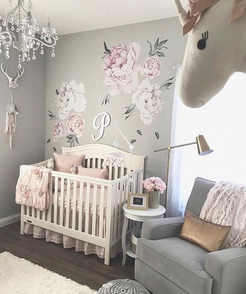 9 + Creative Baby Nursery Decor Ideas  Baby girl room, Baby girl  - Baby Room Decor Girl