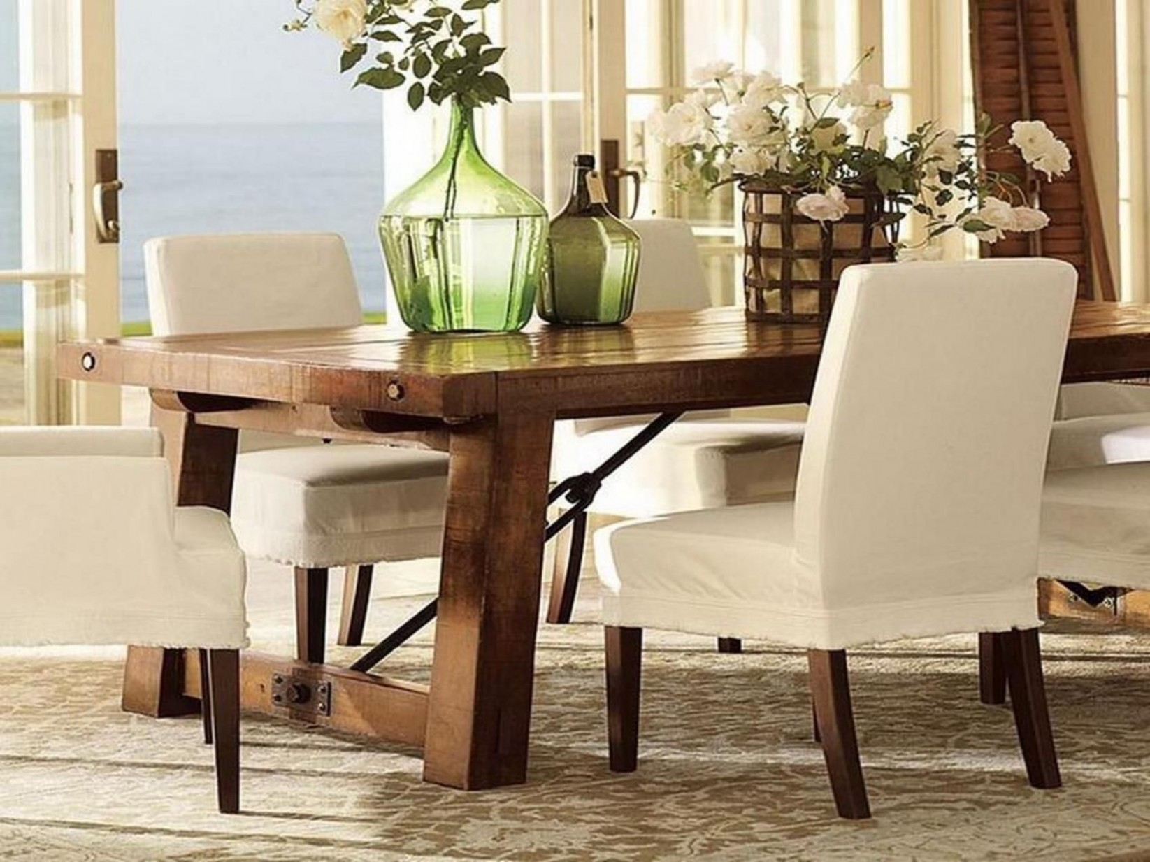 9+ Delectable Minimalist Home Living Room Ideas  Pottery barn  - Dining Room Ideas Pottery Barn
