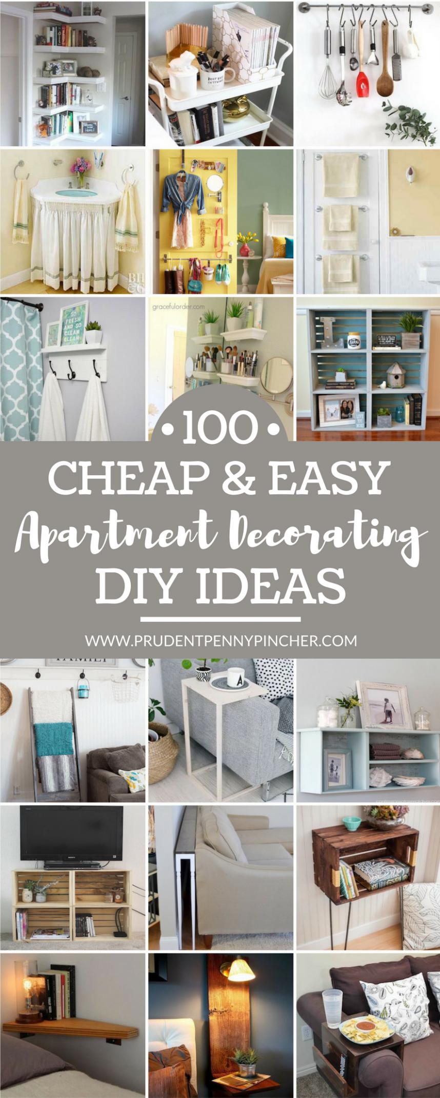 9 DIY Apartment Decorating Ideas  Diy apartment decor  - Apartment Decor Ideas Diy