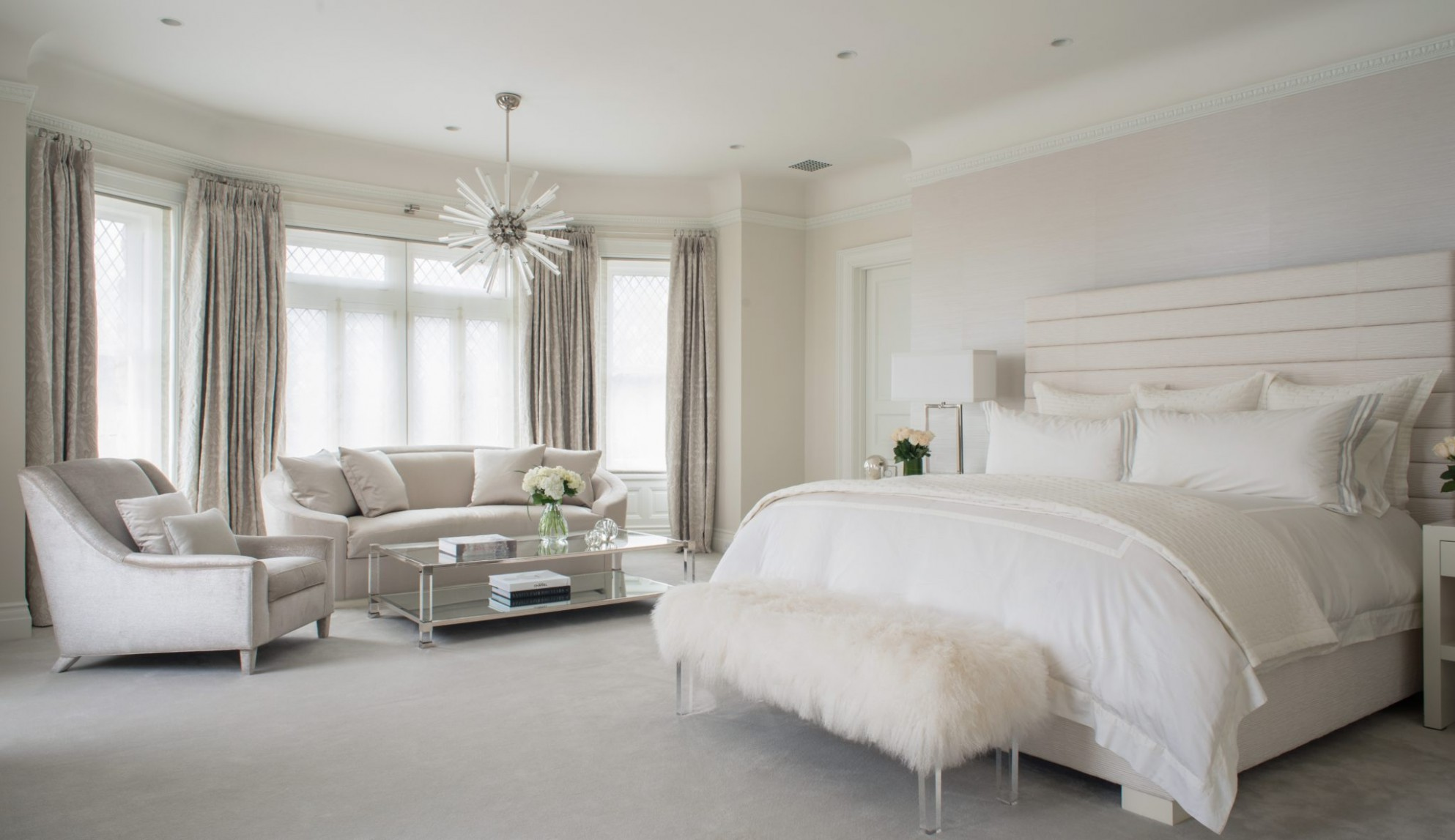 9 Dreamy Bedrooms in Cream and Ivory - Chairish Blog - Bedroom Ideas Cream