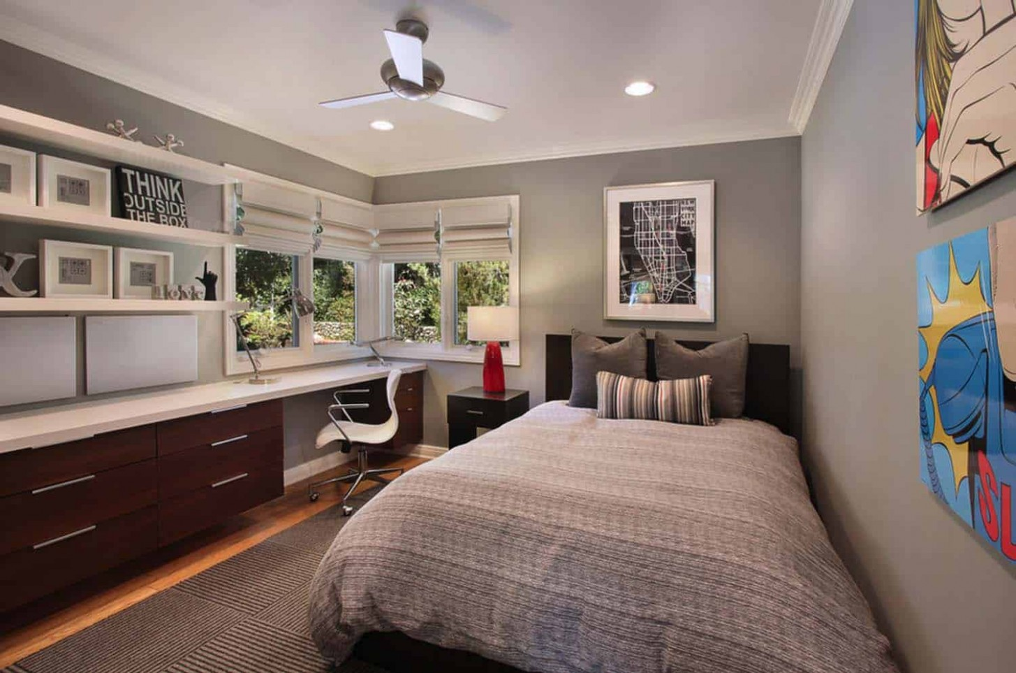 9 Fabulous ideas for a home office in the bedroom - Home Office Ideas Bedroom