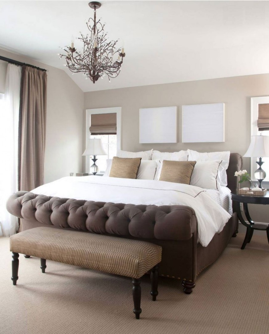 9 Gorgeous and Neutral Master Bedrooms - Bedroom Ideas Neutral Colors