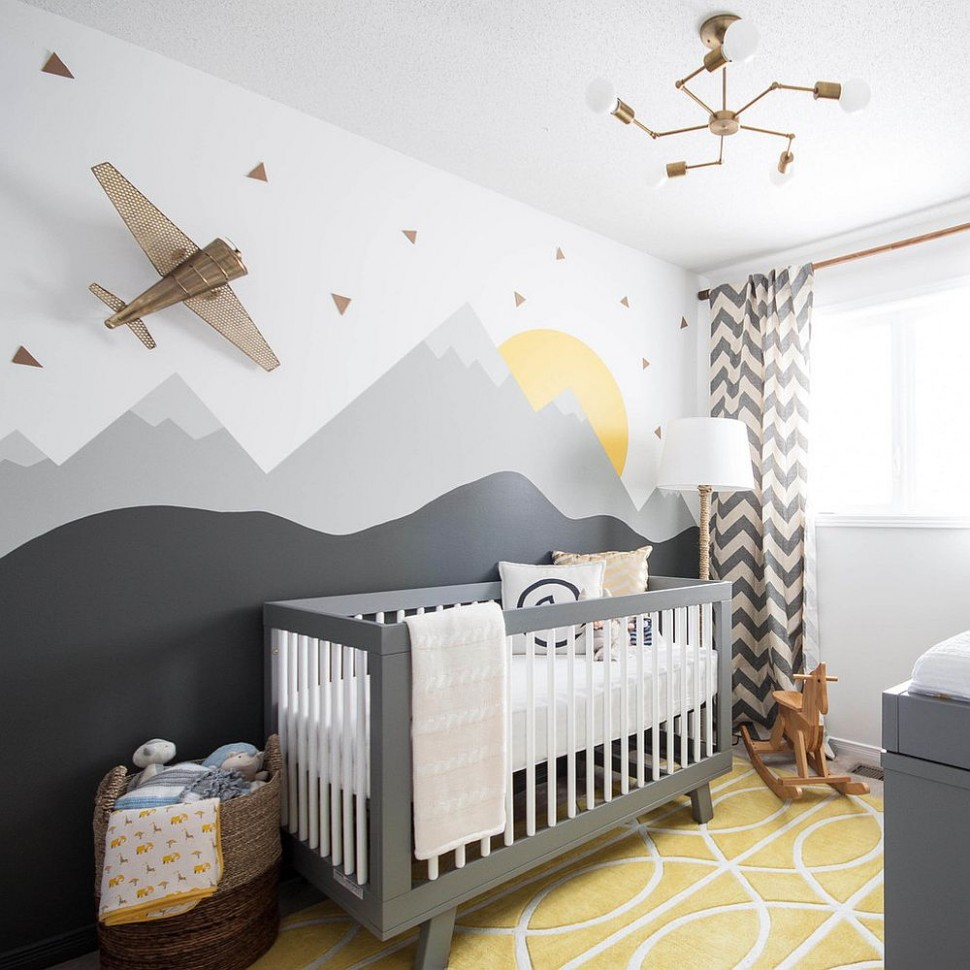 9 Gray and Yellow Nursery Designs with Refreshing Elegance - Baby Room Yellow
