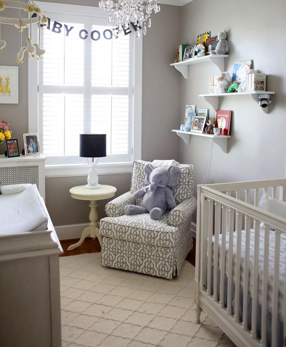 9 Hacks for Designing a Small Nursery  Small baby room, Nursery  - Baby Room With Queen Bed