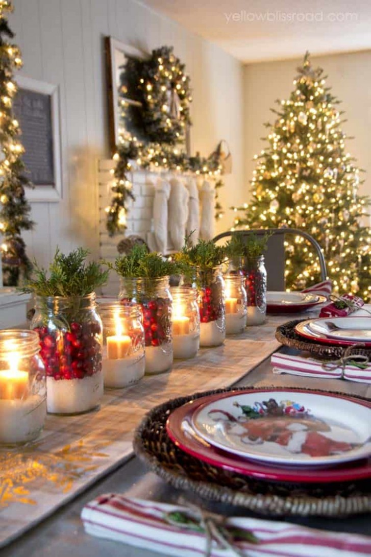 9 Inspiring Christmas decor ideas to elevate your dining table - Dining Room Ideas For Christmas