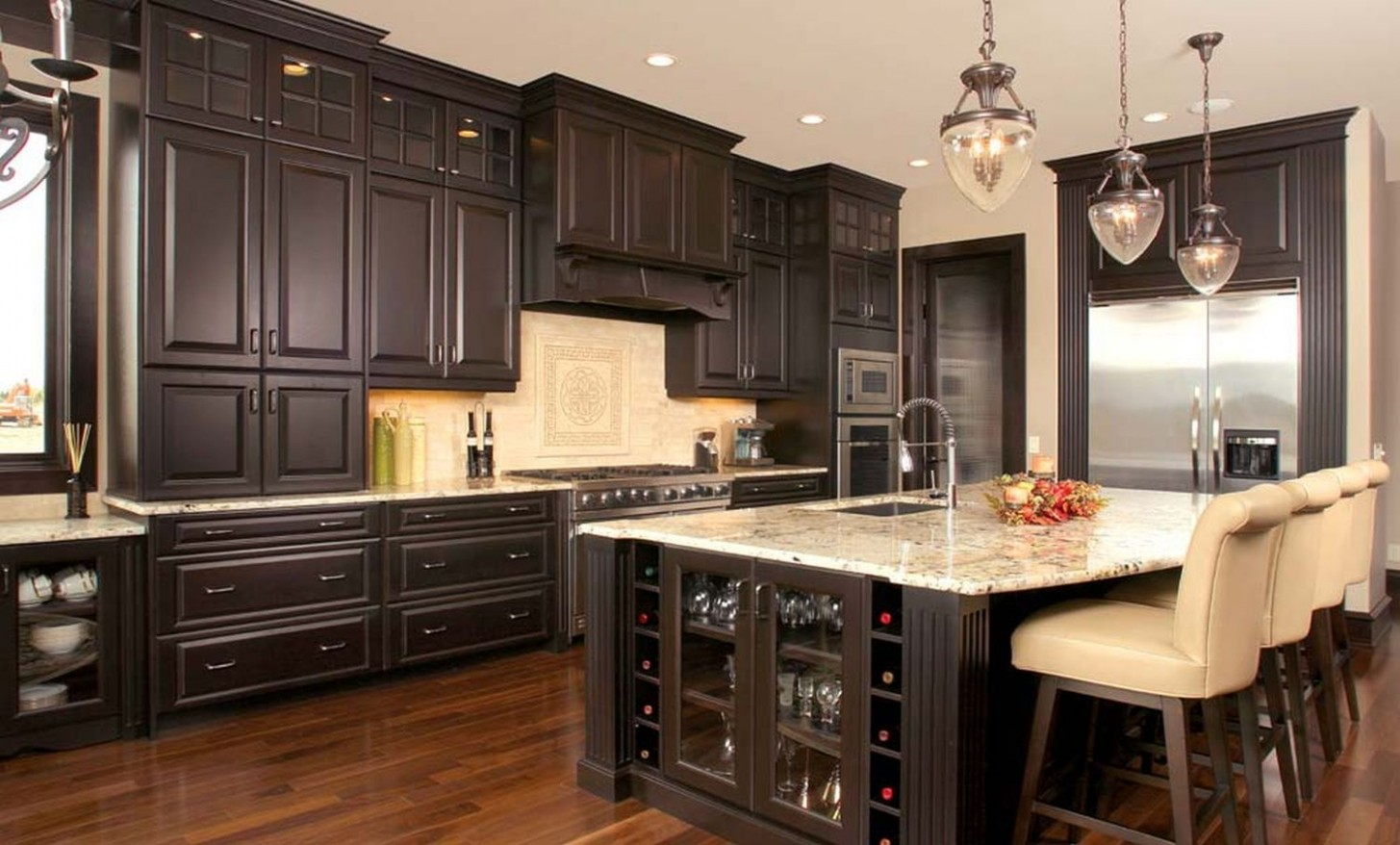 9 Kitchens With Dark Cabinets - Page 9 of 9 - Insider Digest  - Kitchen Cabinets Niles