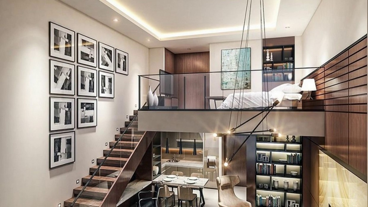 9+ Loft Apartments Design Ideas - Apartment Design With Loft