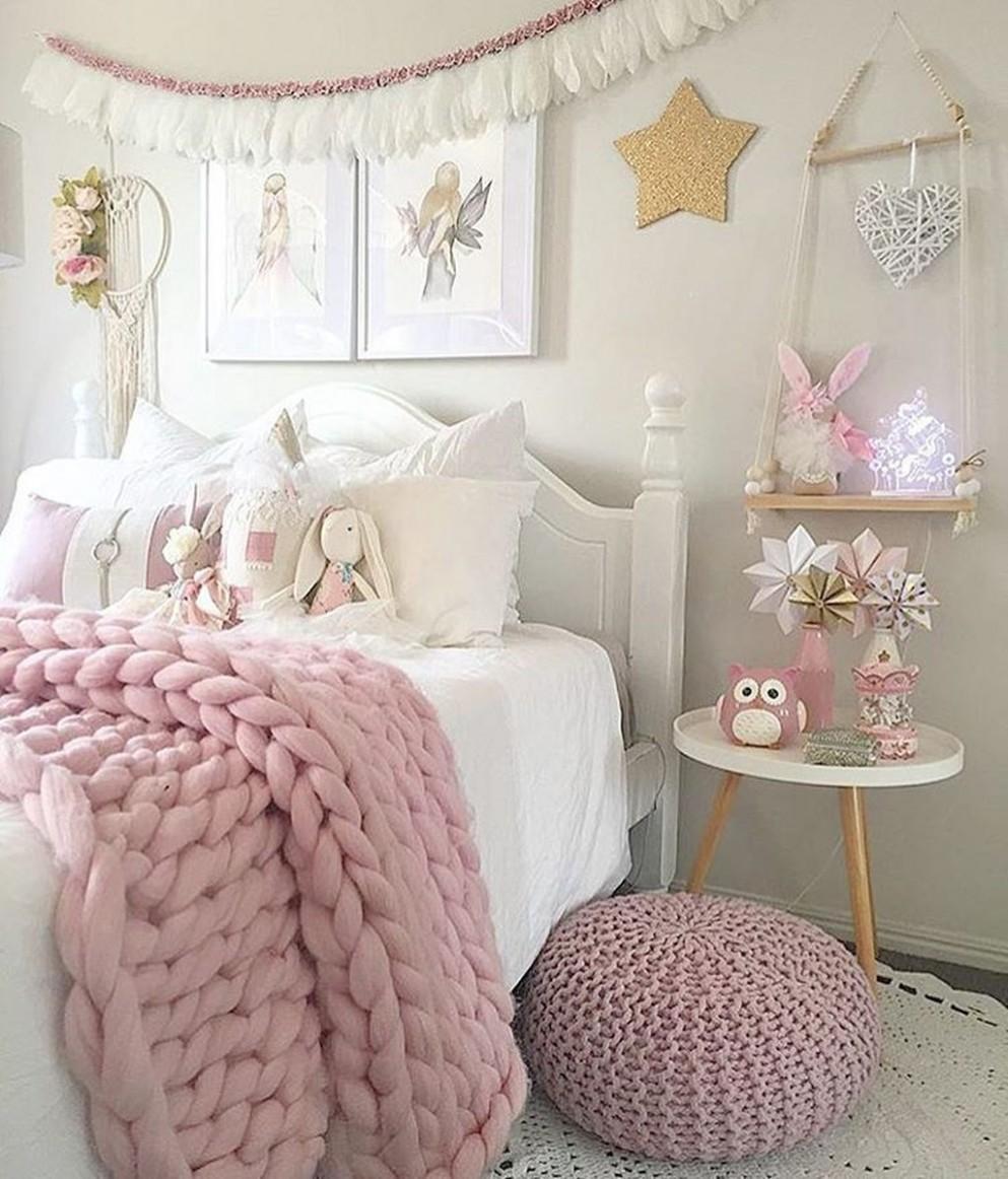 9 Lovely Girls Bedroom Ideas - Trendehouse  Girly bedroom, Girls  - Bedroom Ideas Girl