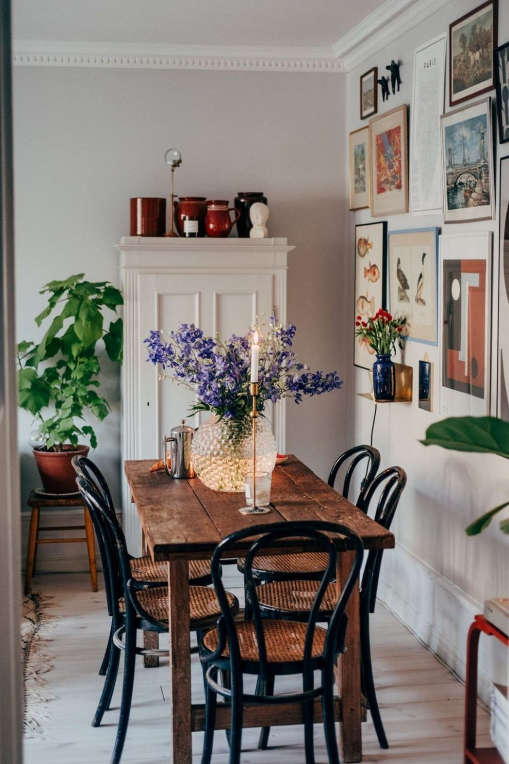 9+ Outstanding Bohemian Dining Room Design And Decor Ideas  - Dining Room Ideas Retro