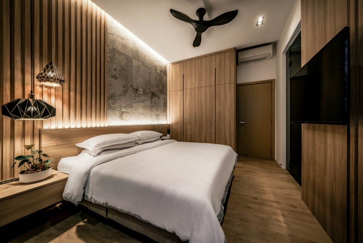 9 Practical Lessons for Small HDB Bedrooms Design [Tips by Weiken] - Bedroom Ideas Hdb