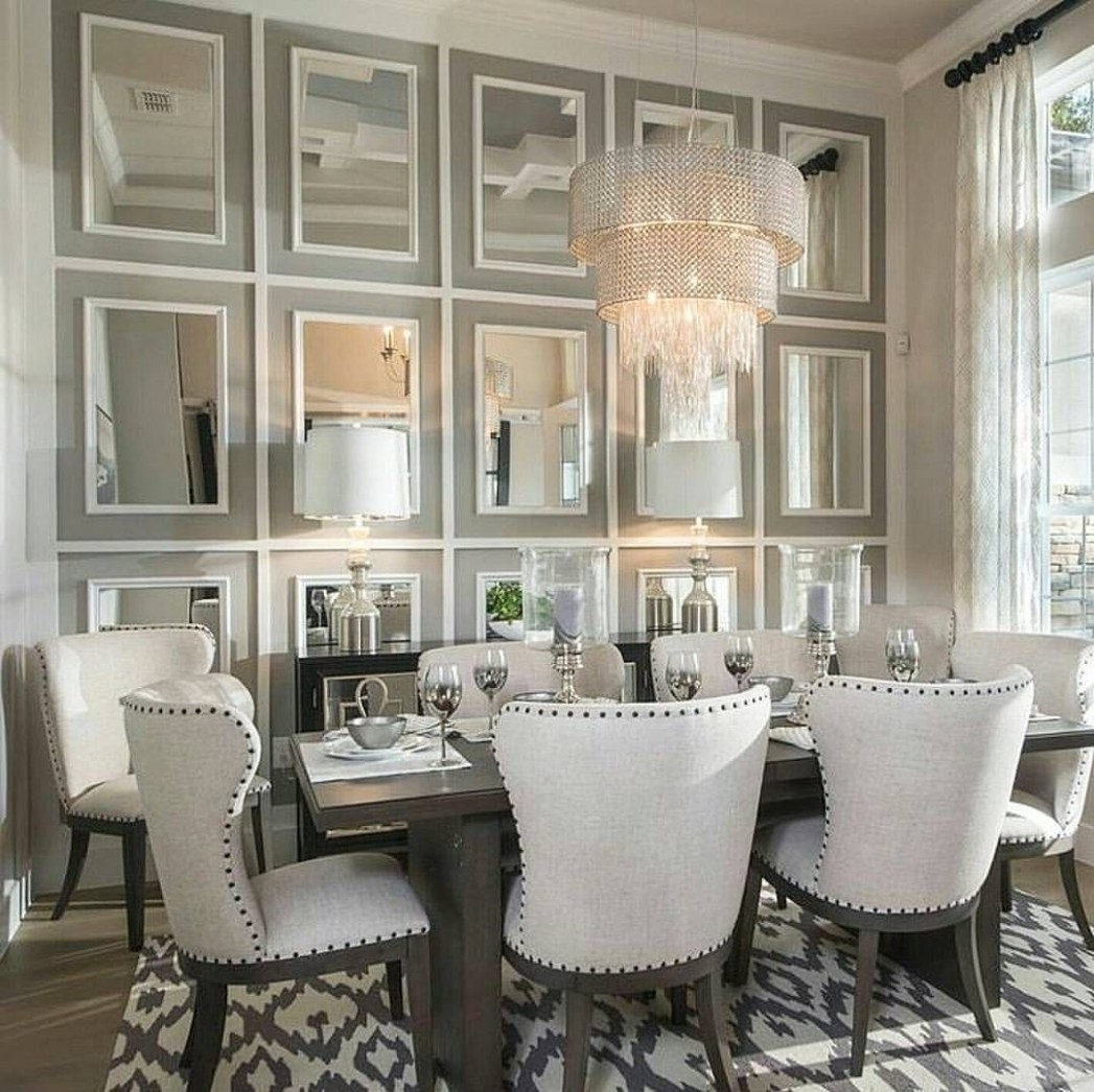 9 reference of Dining Room Decor Mirror architectural in 9  - Dining Room Ideas With Mirrors