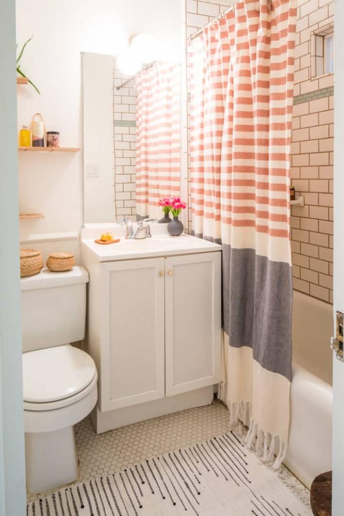 9 Small Bathroom Storage & Design Ideas - Storage Solutions for  - Bathroom Ideas Apartment Therapy