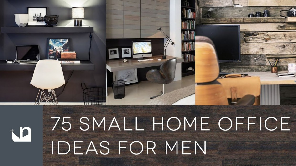 9 Small Home Office Ideas For Men - Design Inspiration - Home Office Ideas Man