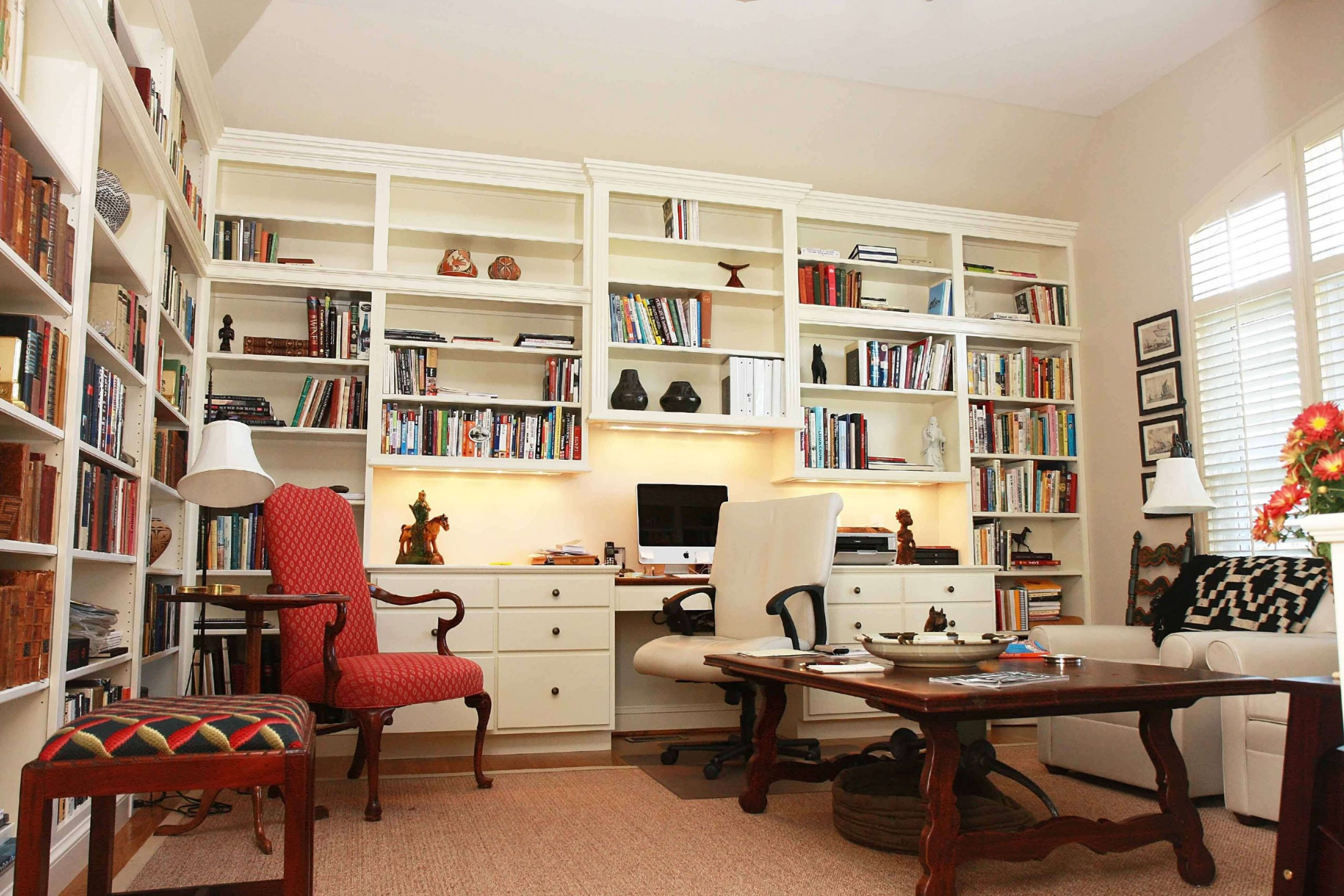 9 Smart Unfinished Basement Ideas on a Budget  You Should Try! - Home Office Ideas In Basement
