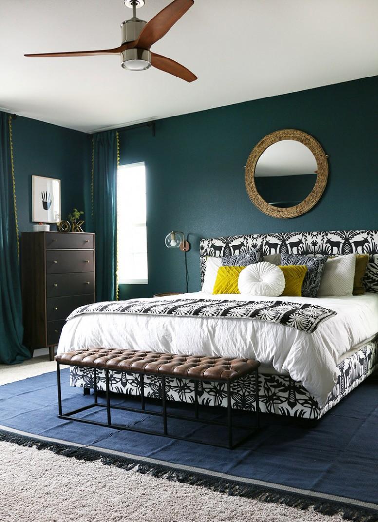 9 Teal Bedroom Ideas 9 (Super Fresh and Bold) - Bedroom Ideas Teal