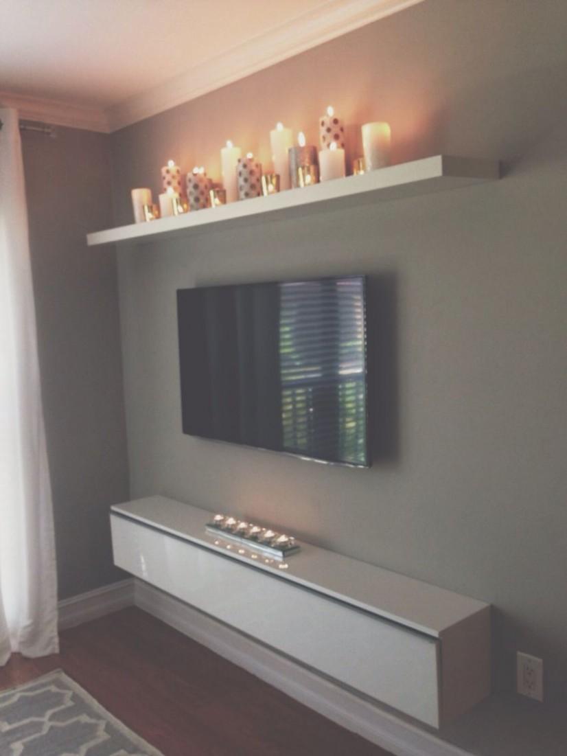 9 TV Wall Decor Ideas  Inspirational TV Wall Design  Decoholic  - Bedroom Ideas With Tv