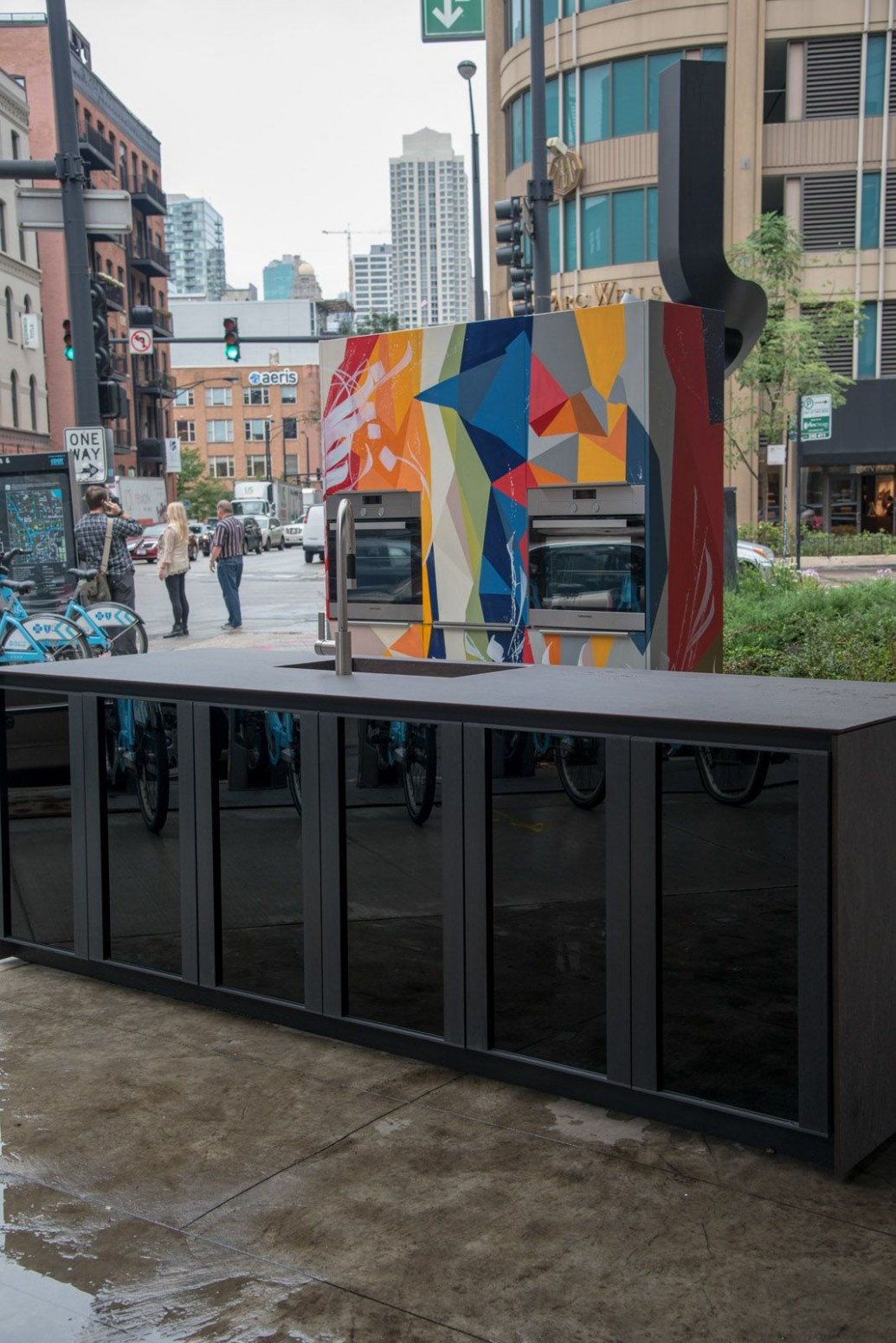 A Custom Italian Kitchen in the Middle of River North, Chicago  - Italian Kitchen Cabinets In Chicago