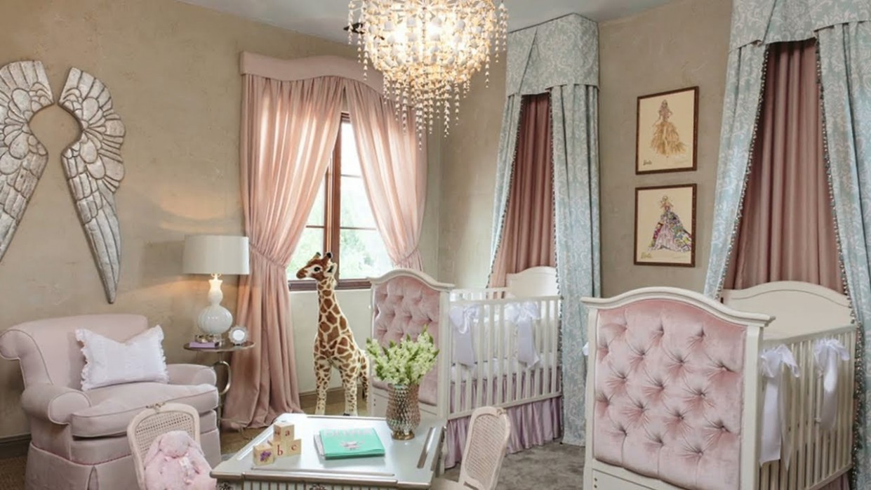 A Little Princess Nursery Design - Baby Room Youtube