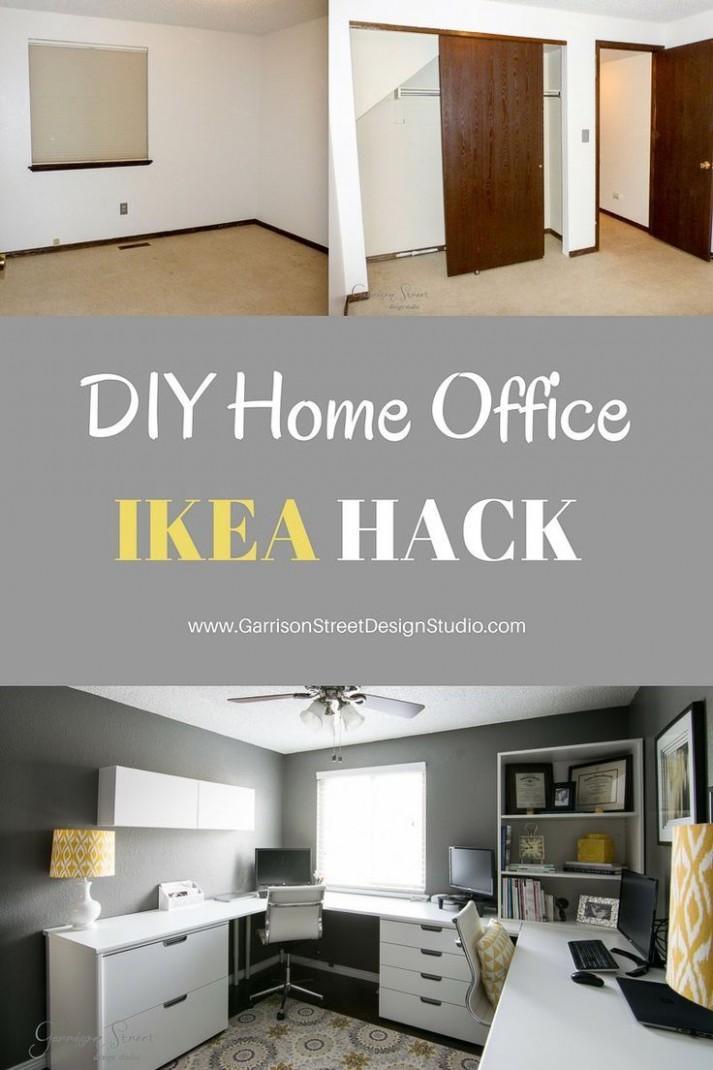 A Real Home Office - Garrison Street Design Studio  Home office  - Home Office Redo Ideas