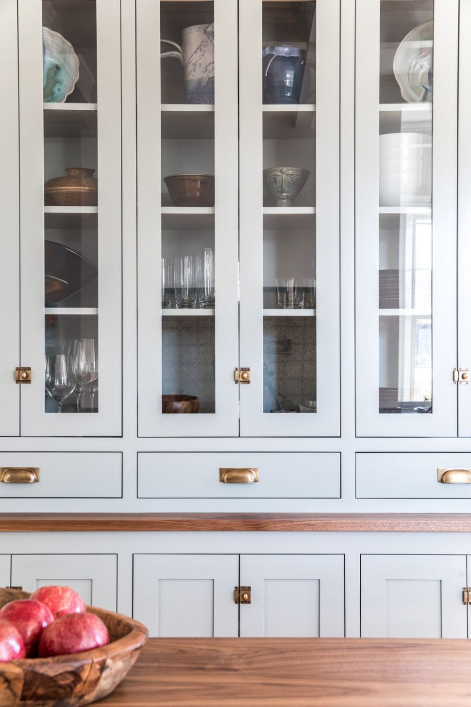 A Shaker Style Kitchen for a 12-Something Couple in Maine  Rue  - Bath Maine Kitchen Cabinets