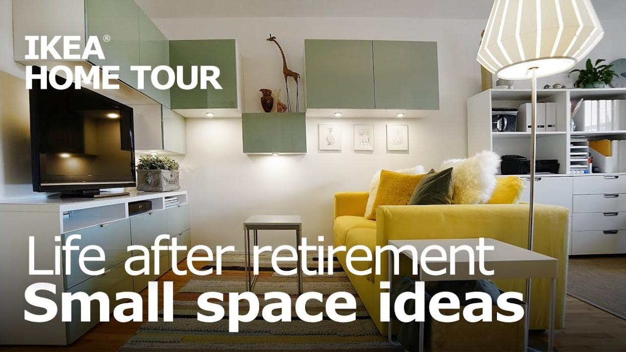 A Studio Apartment for Retirement Living - IKEA Home Tour (Episode 8) - Apartment Decorating Ideas Ikea