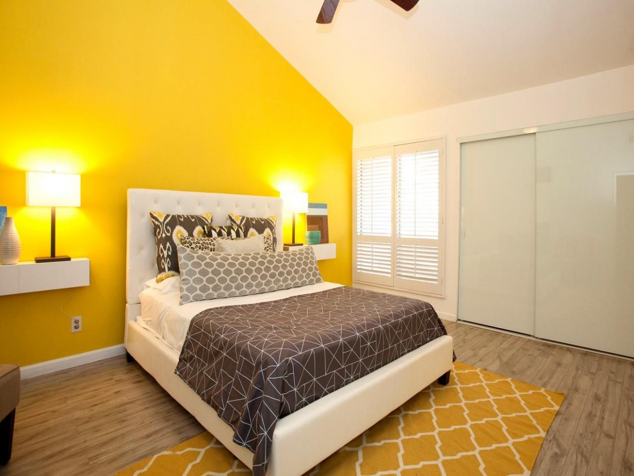 Accent Wall Ideas  accent wall ideas bedroom  accent wall ideas  - Bedroom Ideas Yellow Walls