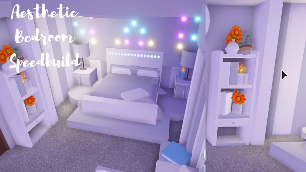 Aesthetic Bedroom ♡ Roblox Adopt Me - Bedroom Ideas In Adopt Me