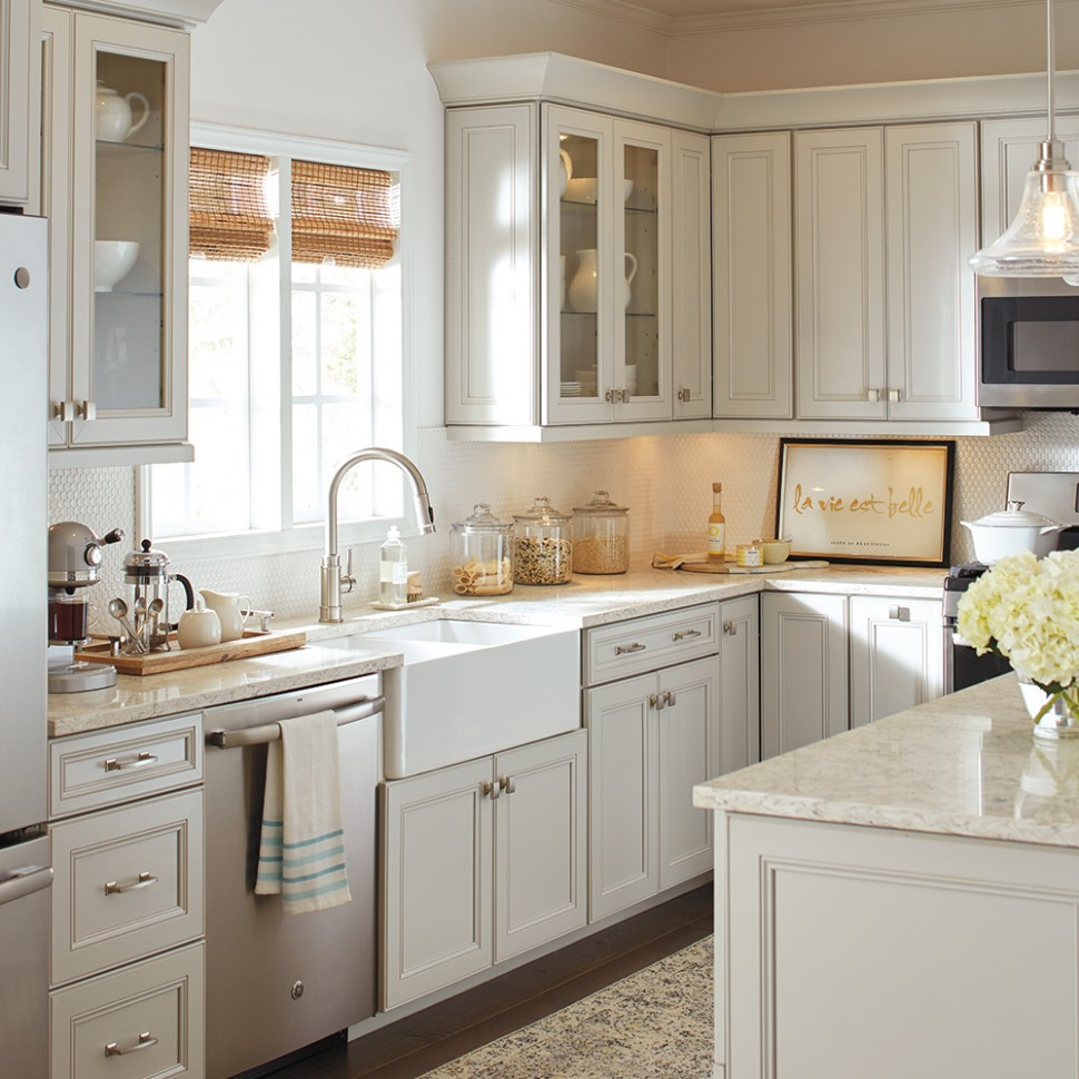 Affordable Kitchen Cabinet Updates - The Home Depot - Renew Kitchen Cabinets Home Depot