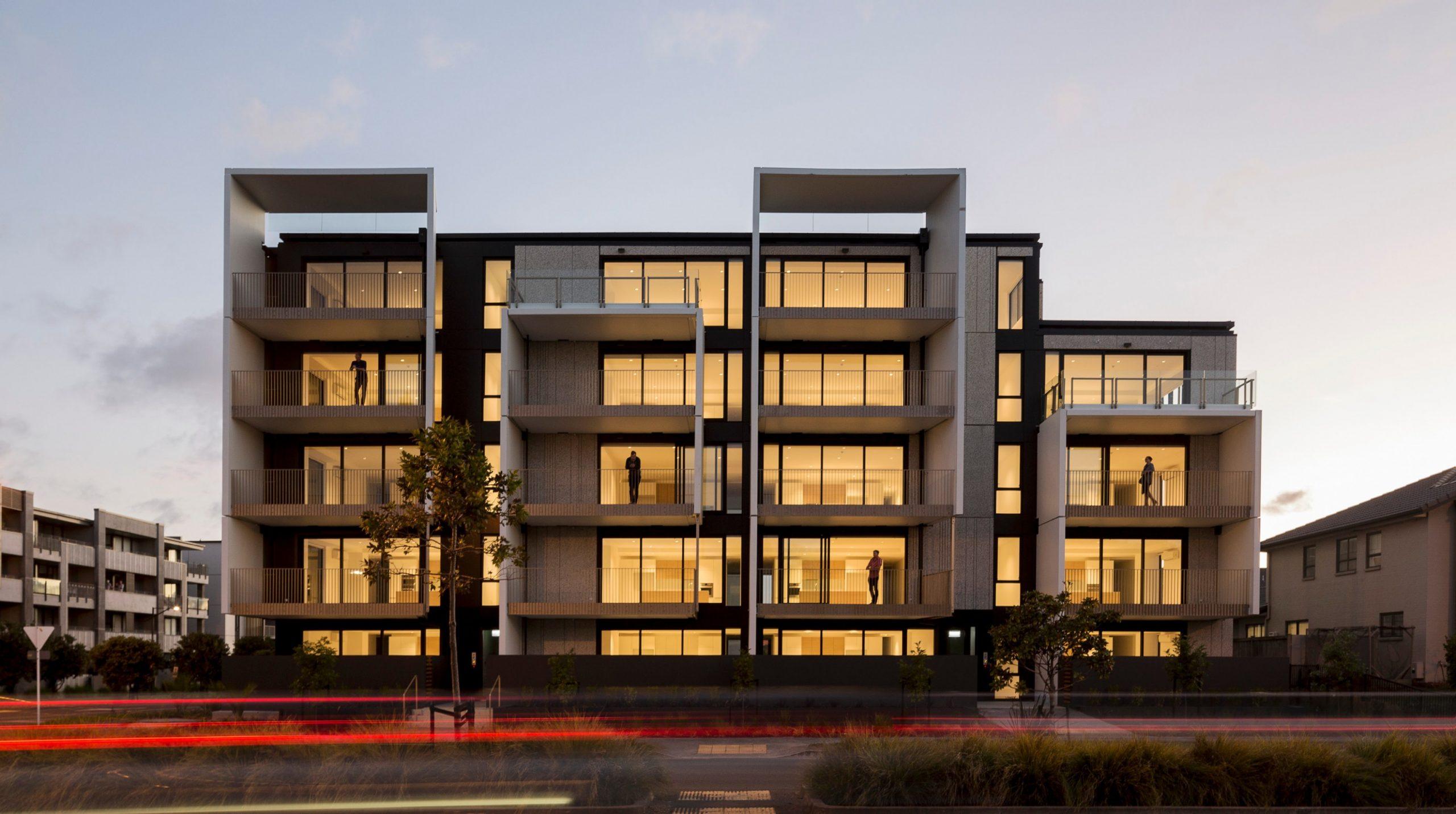 Altera Apartments  Warren & Mahoney - Apartment Design Nz