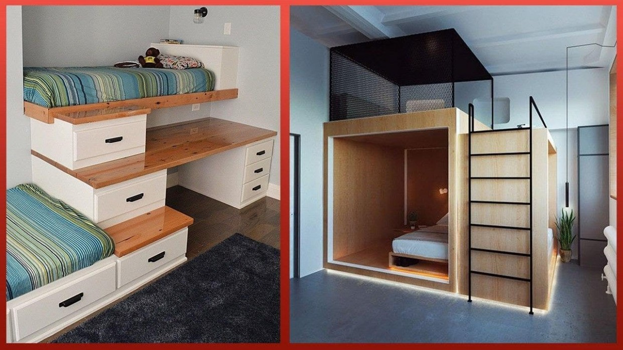 Amazing Home Ideas and Ingenious Space Saving Designs ▶11 - Bedroom Ideas Space Saving