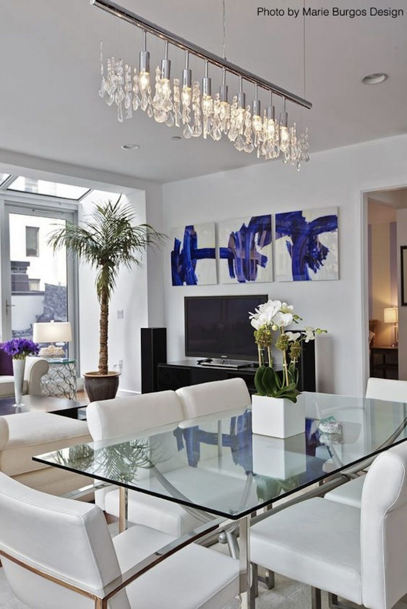 Amazing Modern Glass Dining Tables  Modern Dining Tables  - Dining Room Ideas Glass Table