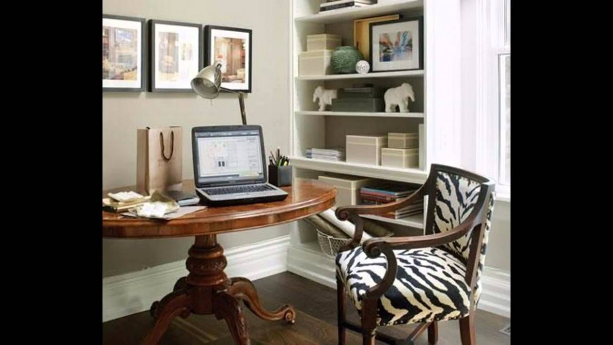Amazing Small office decorating ideas - Home Office Ideas Youtube