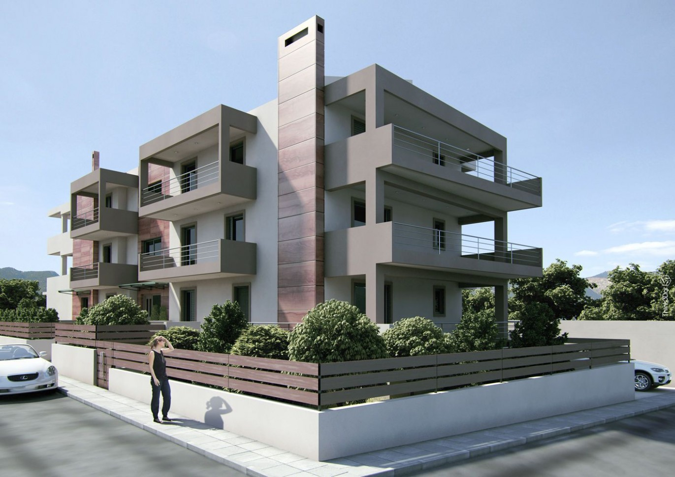 Apartment Building 12  Small apartment building, Modern apartment  - Apartment Design Building