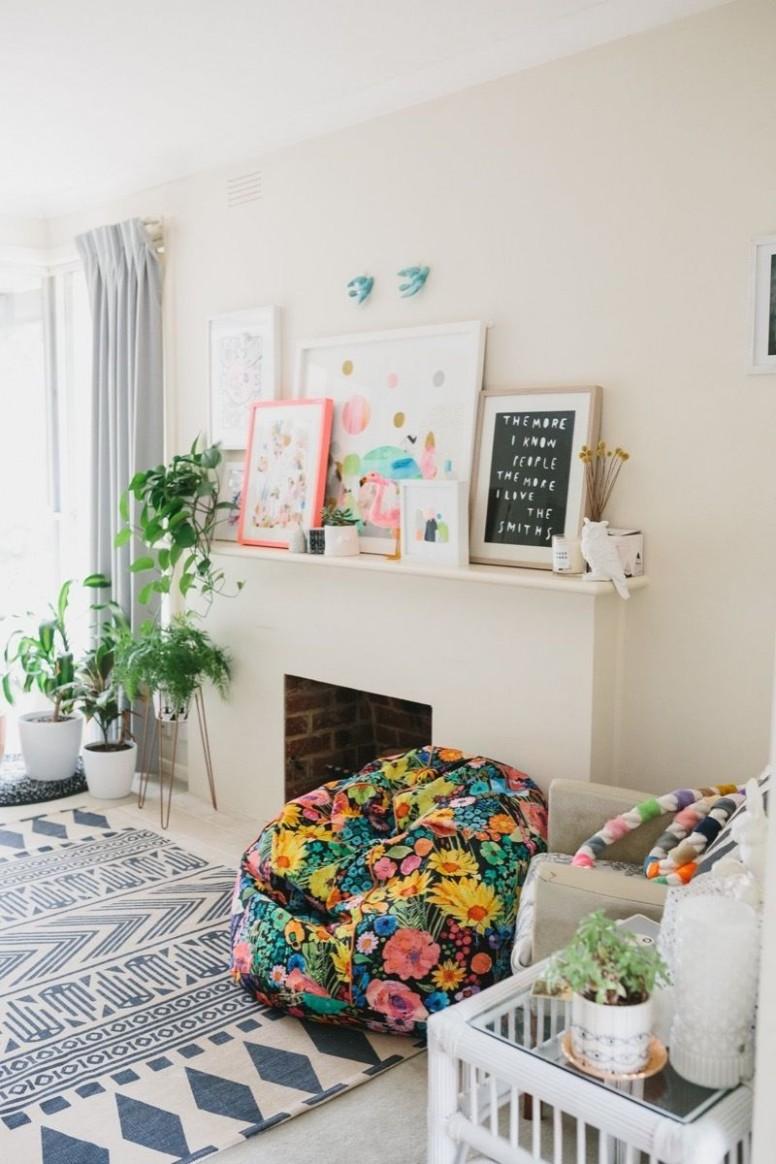 Apartment Decorating Ideas and Organization Tips for Renters  Curbly - Apartment Decorating Ideas Photos