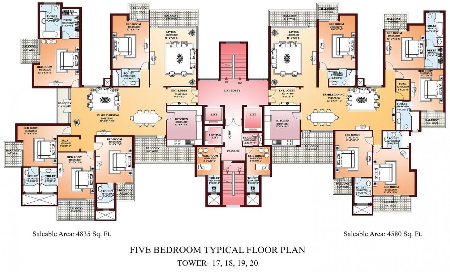 Apartment Floor Plans Designs  Condo floor plans, Building plans  - Apartment Architecture Design Plans